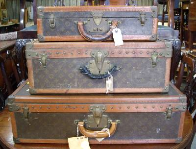 Louis Vuitton Cases in Auction in East Sussex